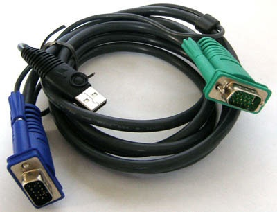 VGA USB кабель