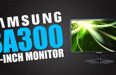 Samsung SA300 прошивка монитора