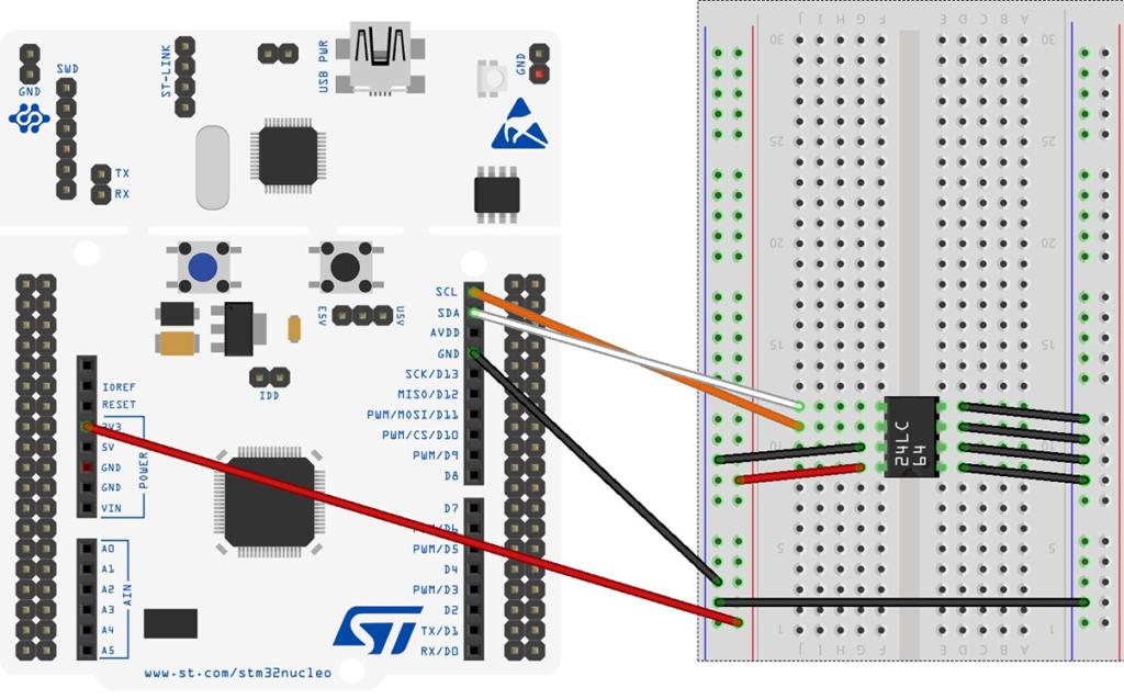 I2C часть 2 (перевод из книги Mastering STM32) — Radiotech
