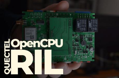 Как работать с Quectel OpenCPU RIL