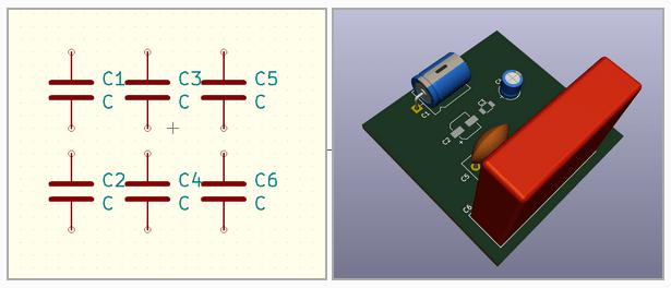 kicad general components symbols