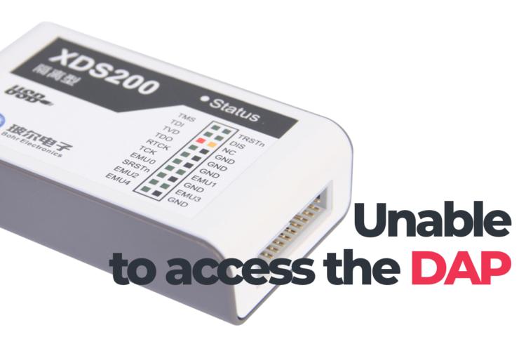 Как исправить ошибку unable to access the dap